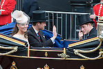"QUEEN CELEBRATES DIAMOND JUBILEE.The Queen and 50 members of the Royal Family attended a church service to celebrate her Diamond Jubilee at St. Paul's Cathedral, London_05/06/2012.Mandatory Credit Photo: ©Francis Dias/DIASIMAGES..**ALL FEES PAYABLE TO: ""NEWSPIX INTERNATIONAL""**..IMMEDIATE CONFIRMATION OF USAGE REQUIRED:.Newspix International, 31 Chinnery Hill, Bishop's Stortford, ENGLAND CM23 3PS.Tel:+441279 324672  ; Fax: +441279656877.Mobile:  07775681153.e-mail: info@newspixinternational.co.uk"