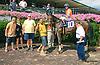 Money Fan winning at Delaware Park on 8/24/15