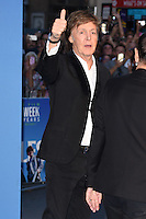 "Sir Paul McCartney<br /> at the Special Screening of The Beatles Eight Days A Week: The Touring Years"" at the Odeon Leicester Square, London.<br /> <br /> <br /> ©Ash Knotek  D3154  15/09/2016"