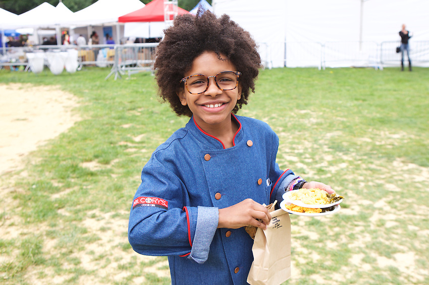 New York, NY - May 21, 2016: Scenes from The Stroll at Harlem Eat Up! in Morningside Park.<br /> <br /> CREDIT: Clay Williams for Edible Manhattan.<br /> <br /> &copy; Clay Williams / claywilliamsphoto.com