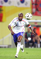 William Gallas of France. The Korea Republic and France played to a 1-1 tie in their FIFA World Cup Group G match at the Zentralstadion, Leipzig, Germany, June 18, 2006.