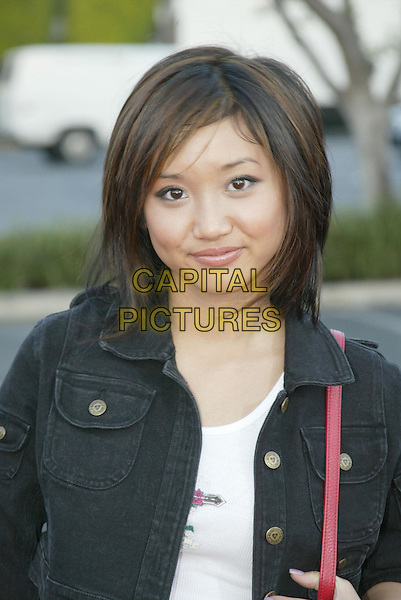 BRENDA SONG .At 'Without A Paddle' World Premiere held at Paramount Pictures. Hollywood, CA, USA.August16, 2004.headshot, portrait.www.capitalpictures.com.sales@capitalpictures.com.© 2004 by Charles Harris.