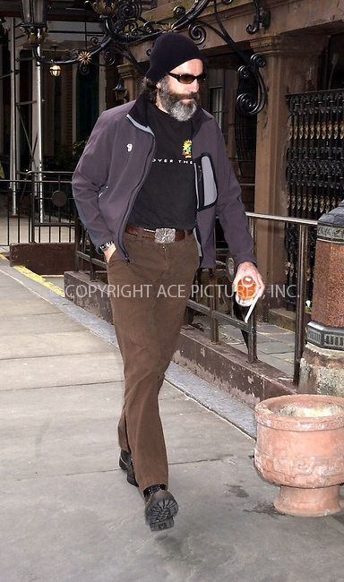 WWW.ACEPIXS.COM . . . . . ....NEW YORK, APRIL 1, 2005....Daniel Day Lewis seen walking in Chelsea.....Please byline: KRISTIN CALLAHAN - ACE PICTURES.. . . . . . ..Ace Pictures, Inc:  ..Craig Ashby (212) 243-8787..e-mail: picturedesk@acepixs.com..web: http://www.acepixs.com