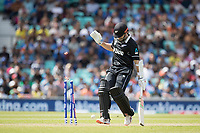 Kane Williamson (New Zealand) is well in following a quick single during India vs New Zealand, ICC World Cup Warm-Up Match Cricket at the Kia Oval on 25th May 2019