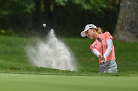 Lydia Ko (NZL) hits from the trap on 1 during round 1 of the U.S. Women's Open Championship, Shoal Creek Country Club, at Birmingham, Alabama, USA. 5/31/2018.<br /> Picture: Golffile | Ken Murray<br /> <br /> All photo usage must carry mandatory copyright credit (&copy; Golffile | Ken Murray)