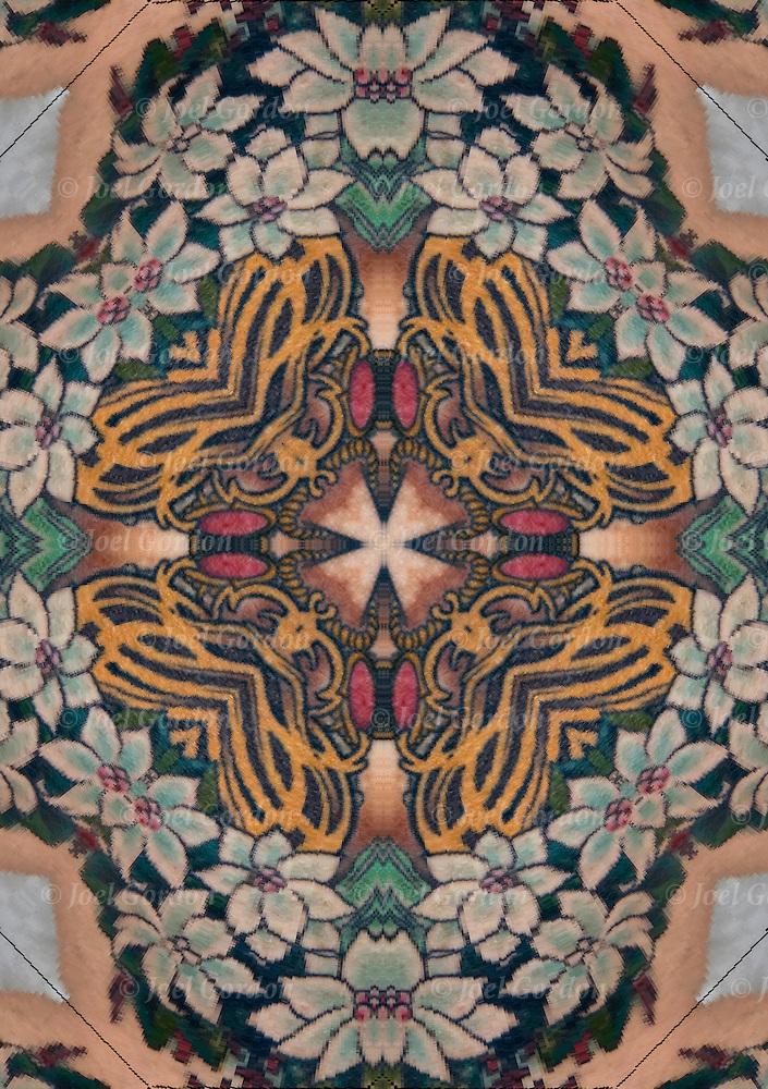 Art Nouveau Flower Tattoo Gis: Art Nouveau Flowers Tattoo