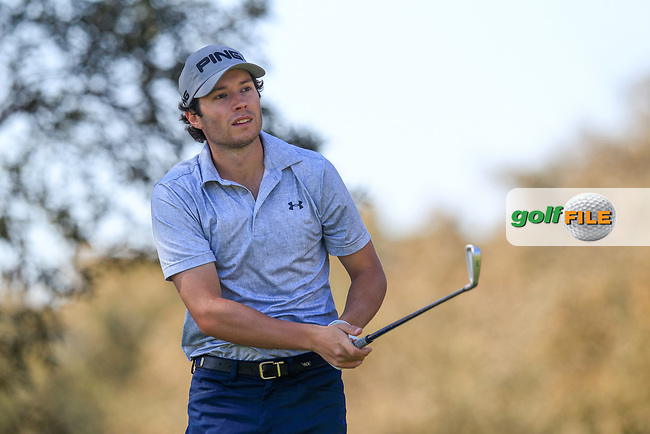 Cameron John Shaw (ESP) during the 3rd round of the European Nations Cup, Real Club de Golf Sotogrande, Paseo del Parque, 11310 Sotogrande, C&aacute;diz  31/03/2017.<br /> Picture: Golffile | Fran Caffrey<br /> <br /> <br /> All photo usage must carry mandatory copyright credit (&copy; Golffile | Fran Caffrey)