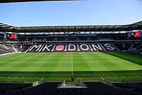 A general view of Stadium MK, home of Milton Keynes Dons<br /> <br /> Photographer Chris Vaughan/CameraSport<br /> <br /> The EFL Sky Bet League One - Milton Keynes Dons v Lincoln City - Saturday 19th September 2020 - Stadium MK - Milton Keynes<br /> <br /> World Copyright © 2020 CameraSport. All rights reserved. 43 Linden Ave. Countesthorpe. Leicester. England. LE8 5PG - Tel: +44 (0) 116 277 4147 - admin@camerasport.com - www.camerasport.com