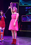 "Kirstin Maldonado during the Curtain Call for Wayne Brady's return to ""Kinky Boots"" on Broadway on March 5, 2018 at the Hirschfeld Theatre in New York City."