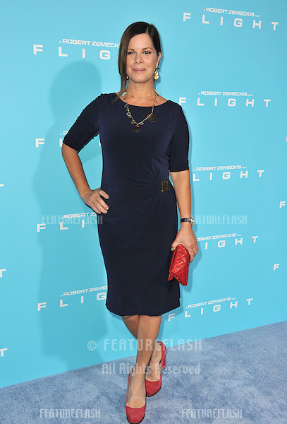 "Marcia Gay Harden at the Los Angeles premiere of ""Flight"" at the Cinerama Dome, Hollywood..October 23, 2012  Los Angeles, CA.Picture: Paul Smith / Featureflash"