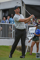 Paul Casey (GBR) watches his tee shot on 7 during day 3 of the World Golf Championships, Dell Match Play, Austin Country Club, Austin, Texas. 3/23/2018.<br /> Picture: Golffile | Ken Murray<br /> <br /> <br /> All photo usage must carry mandatory copyright credit (&copy; Golffile | Ken Murray)