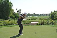 Thomas Aiken (RSA) on the third day of the DUBAI WORLD CHAMPIONSHIP presented by DP World, Jumeirah Golf Estates, Dubai, United Arab Emirates.Picture Fran Caffrey www.golffile.ie