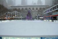 NEW YORK, NY - JANUARY 4: 'Bomb Cyclone' storm hits New York City on January 4, 2018.   <br /> CAP/MPI/RW<br /> &copy;RW/MPI/Capital Pictures
