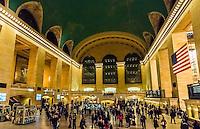Main Concourse, Grand Central Station, New York, New York USA.