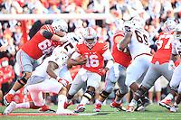 The Ohio State University Football team defeat Northern Illinois University, 20-13. Columbus, OH. September 19, 2015<br /> Photo by; Walt Middeton