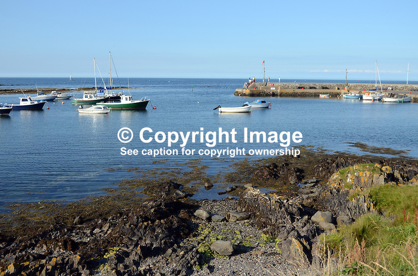 Harbour, Groomsport, Co Down, N Ireland, UK, travel, tourism, 201208100479..Copyright Image from Victor Patterson, 54 Dorchester Park, Belfast, UK, BT9 6RJ..Tel: +44 28 9066 1296.Mob: +44 7802 353836.Voicemail +44 20 8816 7153.Skype: victorpattersonbelfast.Email: victorpatterson@me.com.Email: victorpatterson@ireland.com (back-up)..IMPORTANT: If you wish to use this image or any other of my images please go to www.victorpatterson.com and click on the Terms & Conditions. Then contact me by email or phone with the reference number(s) of the image(s) concerned.