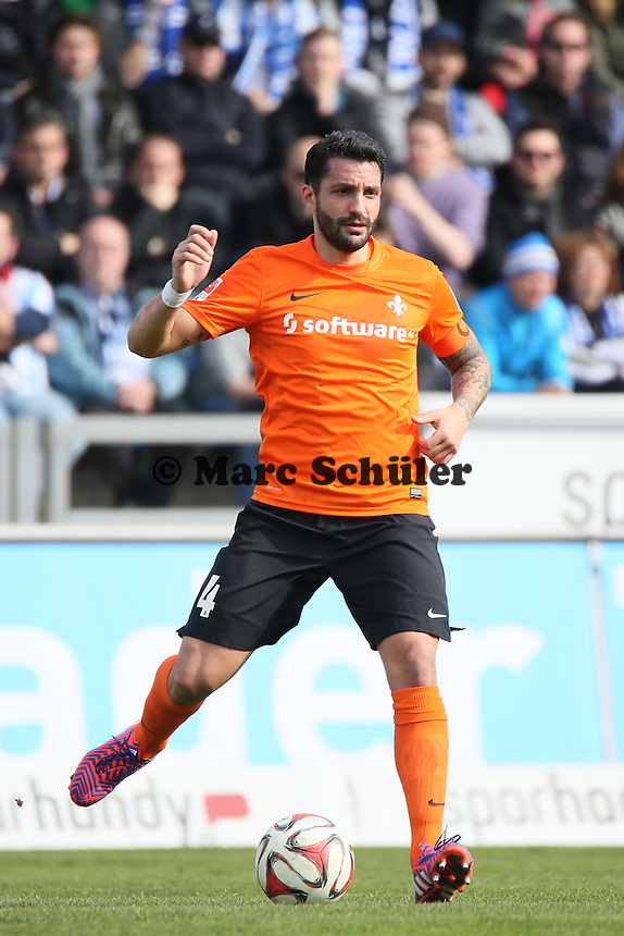 Aytac Sulu (SV98) - FSV Frankfurt vs. SV Darmstadt 98, Frankfurter Volksbank Stadion