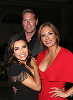 BEVERLY HILLS, CA - OCTOBER 12: ***HOUSE COVERAGE***  Eva Longoria, John H Simpson and Alex Meneses at the Eva Longoria Foundation Gala at The Four Seasons Beverly Hills in Beverly Hills, California on October 12, 2017. Credit: Faye Sadou/MediaPunch