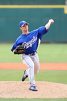 Dusty Hughes, Kansas City Royals 2010 minor league spring training..Photo by:  Bill Mitchell/Four Seam Images.