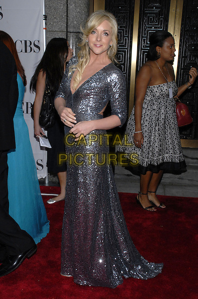 JANE KRAKOWSKI. The 61st Annual Tony Awards at Radio City Music Hall,.New York City, New York, USA, 10 June 2007..full length silver grey sequined sparkly dress.CAP/ADM/BL.©Bill Lyons/AdMedia/Capital Pictures. *** Local Caption ***