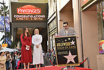 Irina Menzel, Kristen Bell -Star WofF 038 Josh Gad ,  Kristen Bell And Idina Menzel  Honored With Stars On The Hollywood Walk Of Fame on November 19, 2019 in Hollywood, California