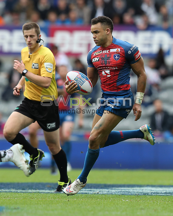 Picture by John Clifton/SWpix.com - 20/05/2017 - Rugby League - Dacia Magic Weekend - Widnes Vikings v Wakefield Trinity - St James' Park, Newcastle, England - <br />