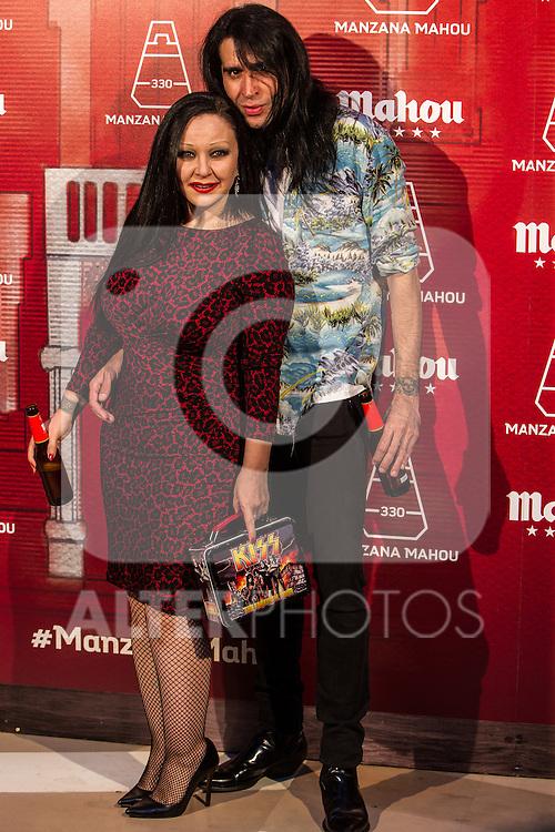 Alaska y Mario Vaquerizo during the inauguration of Manzana Mahou 330 space. 22,06,2016. (ALTERPHOTOS/Rodrigo Jimenez)