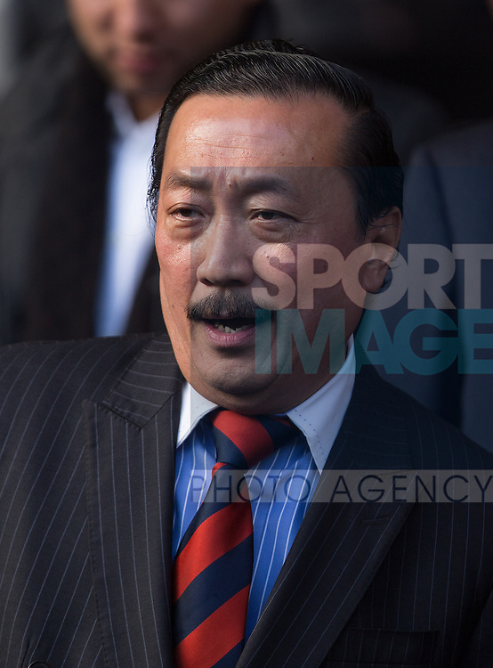 Cardiff owner Vincent Tan - Liverpool vs. Cardiff - Barclays Premier League - Anfield - Liverpool - 21/12/2013 Pic Philip Oldham/Sportimage