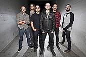 LINKIN PARK - Photosession in Los Angeles CA USA- 25 Oct 2014.  Photo credit: Paul Harries/IconicPix **NOT AVAILABLE FOR UK MUSIC MAGAZINES**