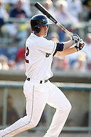 June 24, 2009:  Kyle Bellows of the Mahoning Valley Scrappers during a game at Eastwood Field in Niles, OH.  The Scrappers are the NY-Penn League Short-Season Single-A affiliate of the Cleveland Indians.  Photo by:  Mike Janes/Four Seam Images
