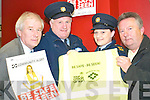 At the launch of the Listowel Credit Union Road Safety campaign on Tuesday night were Christy Kileen (chairman of Listowel Credit Union), Sgt Declan Horan and gda Deirdre Crowley, (Listowel garda station) and Jerry Duggan (Community Alert).   Copyright Kerry's Eye 2008