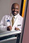portrait of African American radiologist