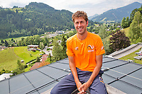 Austria, Kitzbuhel, Juli 14, 2015, Tennis, Davis Cup, Robin Haase(NED) <br /> Photo: Tennisimages/Henk Koster