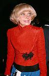 Carol Channing attends the Tony Awards, New York City.  1980