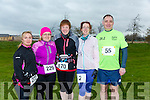 participants who took part in the Kerry's Eye Valentines Weekend 10 mile road race on Sunday were Anna Stack, Ann O'Shea, Kirstie McTrusty, Niamh Abeyta and John Counihan