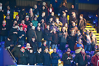 Lincoln City fans enjoy the pre-match atmosphere<br /> <br /> Photographer Andrew Vaughan/CameraSport<br /> <br /> The EFL Sky Bet League Two - Mansfield Town v Lincoln City - Monday 18th March 2019 - Field Mill - Mansfield<br /> <br /> World Copyright © 2019 CameraSport. All rights reserved. 43 Linden Ave. Countesthorpe. Leicester. England. LE8 5PG - Tel: +44 (0) 116 277 4147 - admin@camerasport.com - www.camerasport.com
