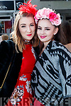 Sarah Schweppe and Julia Browne (both from Dublin), enjoying Ladies Day at Listowel Races on Friday last.