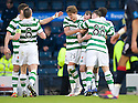 CELTIC'S ANTHONY STOKES CELEBRATES AFTER HE SCORES CELTIC'S SECOND