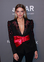 NEW YORK, NY - FEBRUARY 6: Bregje Heinen arriving at the 21st annual amfAR Gala New York benefit for AIDS research during New York Fashion Week at Cipriani Wall Street in New York City on February 6, 2019. <br /> CAP/MPI99<br /> ©MPI99/Capital Pictures