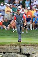 Rory MCILROY (NIR) eagle putt on the 7th green during Thursday's Round 1 of the 2014 PGA Championship held at the Valhalla Club, Louisville, Kentucky.: Picture Eoin Clarke, www.golffile.ie: 7th August 2014