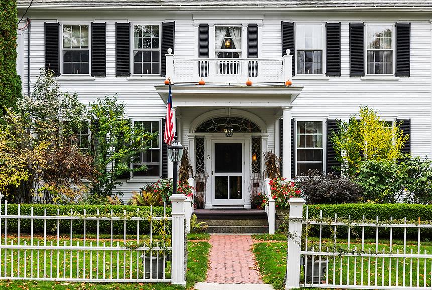 The Captain Jefferds Inn, Kennebunkport,  Maine, USA.