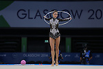 Glasgow 2014 Commonwealth Games<br /> <br /> Francesca Jones (Wales) competing in the women's Individual Rhythmic Gymnastics Final.<br /> <br /> 25.07.14<br /> &copy;Steve Pope-SPORTINGWALES