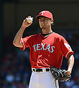 Yu Darvish (Rangers),<br /> JUNE 30, 2013 - MLB :<br /> Pitcher Yu Darvish of the Texas Rangers during the Major League Baseball game against the Cincinnati Reds at Rangers Ballpark in Arlington in Arlington, Texas, United States. (Photo by AFLO)
