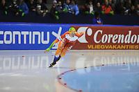 SCHAATSEN: HEERENVEEN: 26-12-2013, IJsstadion Thialf, KNSB Kwalificatie Toernooi (KKT), 1000m, Sanneke de Neeling, ©foto Martin de Jong