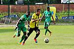 En duelo de la fecha 14 de la Liga de Fútbol Profesional Colombiana, Alianza Petrolera y Equidad empataron 2 - 2 en el estadio Álvaro Gómez Hurtado de Floridablanca.