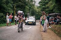 Laurens ten Dam (NED/Sunweb)<br /> <br /> Stage 20 (ITT): Saint-Pée-sur-Nivelle >  Espelette (31km)<br /> <br /> 105th Tour de France 2018<br /> ©kramon