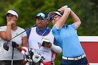 Charlotte Thomas (ENG) watches her tee shot on 10 during the round 2 of the Volunteers of America Texas Classic, the Old American Golf Club, The Colony, Texas, USA. 10/4/2019.<br /> Picture: Golffile | Ken Murray<br /> <br /> <br /> All photo usage must carry mandatory copyright credit (© Golffile | Ken Murray)