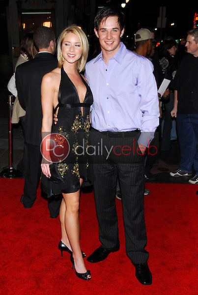 """Ryan Merriman and friend<br />at the premiere of """"Final Destination 3"""". Grauman's Chinese Theatre, Hollywood, CA 02-01-06<br />Dave Edwards/DailyCeleb.com 818-249-4998"""