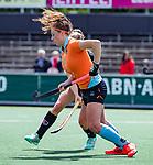 AMSTELVEEN  -  Evaline Janssens (Gro) .  Hoofdklasse hockey dames ,competitie, dames, Amsterdam-Groningen (9-0) .     COPYRIGHT KOEN SUYK