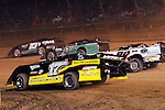 Sep 12, 2010; 12:15:16 AM; Rossburg, OH., USA; The 40th annual running of the World 100 Dirt Late Models racing for the Globe trophy at the Eldora Speedway.  Mandatory Credit: (thesportswire.net)